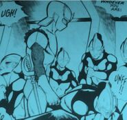 Warriors of M78 a.k.a. Red Guard