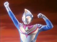 Ultraman Dyna's first apperance