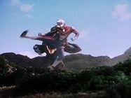 Geomos vs Ultraman Dyna5