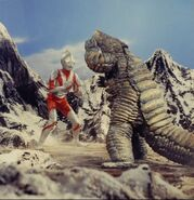 Ultraman vs Red King ll