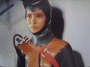 Akiko Fuji scuba suit