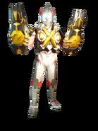 Ultraman X Zetton Armor Render 2