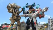 X & Cyber Gomora vs King Joe 3
