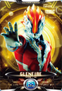 Ultraman X Glen Fire Card