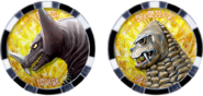 Kaiju Medal Pair