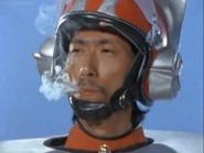 Saburo smokes