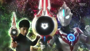 Orb & Gai hold the Orbcalibur