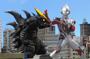 Ultraman X v Demagra