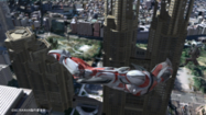 Ultraman the Next flying