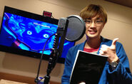 Takuya voicing Exceller
