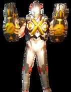 Ultraman X Zetton Armor Render 1