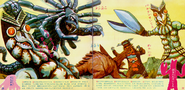 Jack and Kaiju picture book X