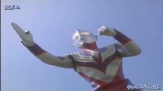 Ultraman Tiga's transformations