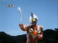 Max throwing his Maxium Sword