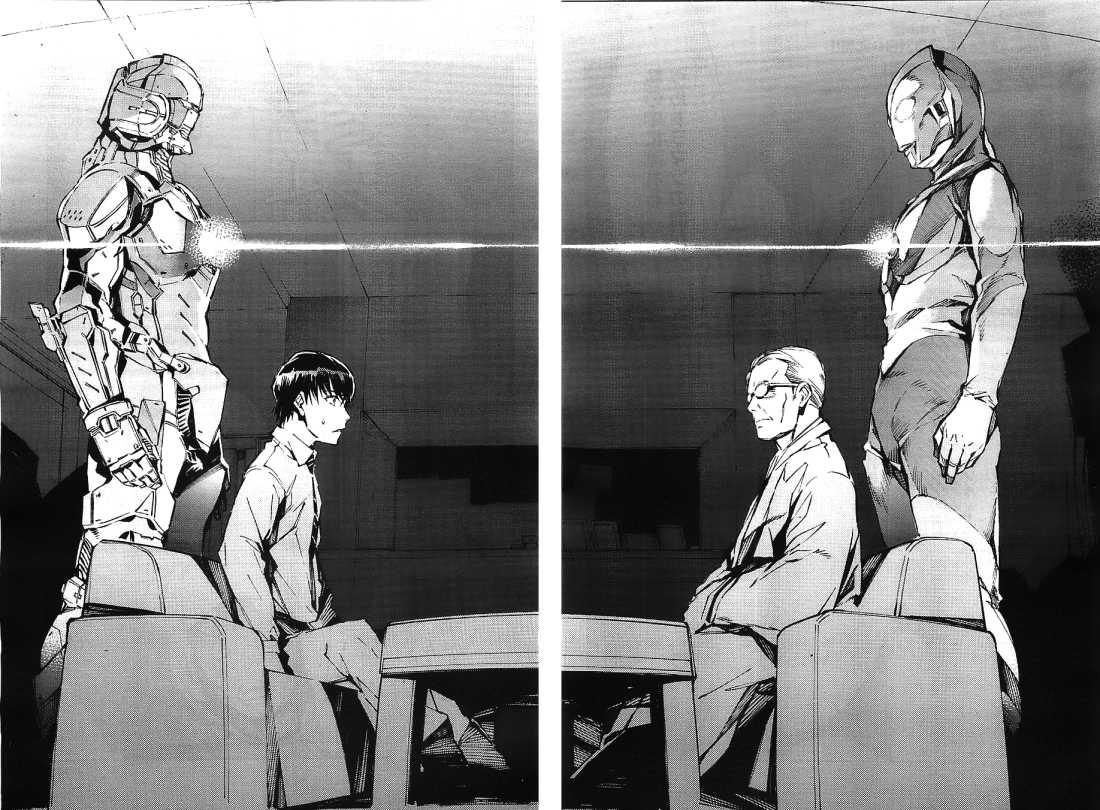 Resultado de imagen para ultraman manga