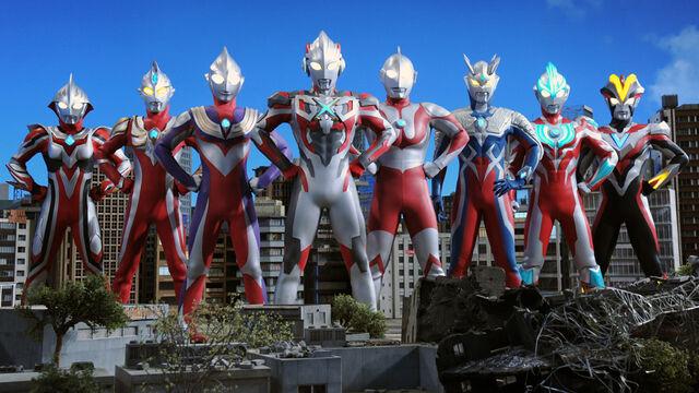 File:Ultraman, Tiga, Zero, Nexus, Max, Ginga, Victory & X.jpg