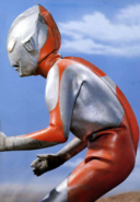 Ultraman A fighting
