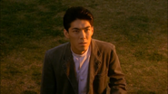 Katsuto heals by his father