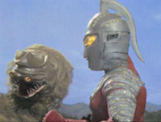 Gabura head vs Ultraseven