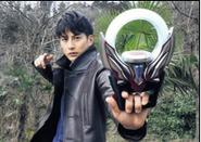 Ultraman Orb tranformation device