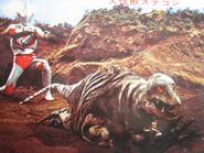 Stegon v Ultraman Jack