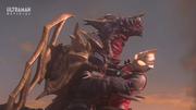 King of Mons v Ultraman Gaia