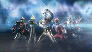 Ultimate Force Zero in Ultra Zero Fight