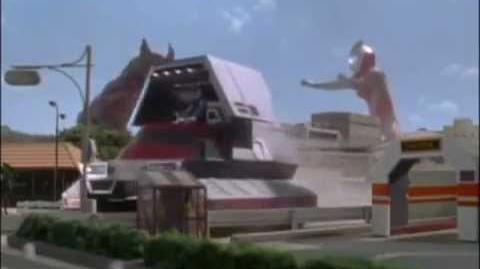 Ultraman Gaia vs Genshenk