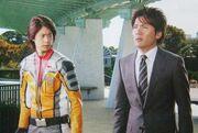 Mirai dan Daigo dalam Super 8
