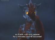 Leo's color timer flash