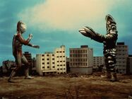 Alien Baltan Jr. vs Ultraman
