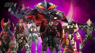 ALL THE EVIL FUSIONS OF ULTRAMAN BELIAL