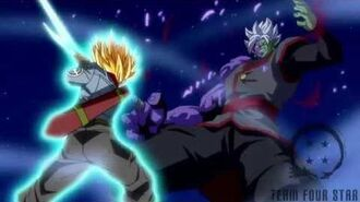 Trunks kill Zamasu Shining Finger Sword style!!-1488443357