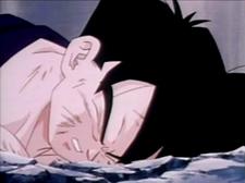 Gohan fells to the ground dead7