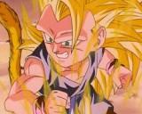 SSJ 3 Kid Goku