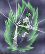 DBZ Ice jin Fan Character by Karioudo