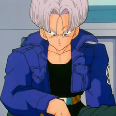 Future Trunks in Yamcha's airship