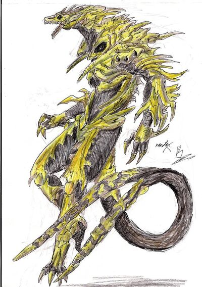 Monster X by hewhowalksdeath