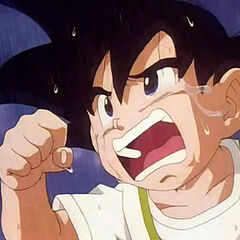 Goku Jr. runs to the hospital