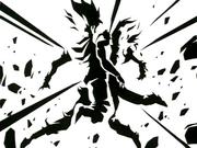 GokuAndVegetaFusingVegito