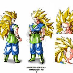 AF SSJ3 Goku Design