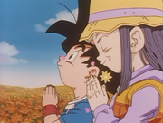 180px-Pan and Goku Jr. Praying