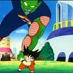 King Piccolo's rematch with Goku