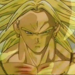 Broly appears before Videl