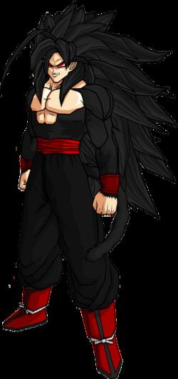 Evil goku ssj5 by db own universe arts-d34xlne