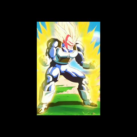 Ascended Super Saiyan Vegeta