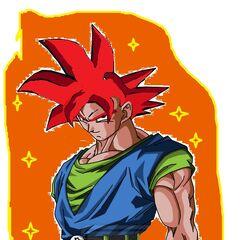 AF SSJG Goku Design