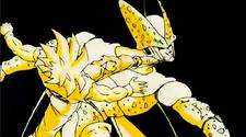 Gohan Strike Kicks Cell