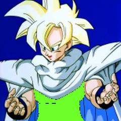 Gotek as a Super Saiyan