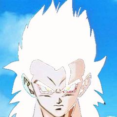 Gotek as an adult Super Saiyan 5.